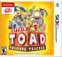 Caja de Captain Toad Treasure Tracker (Nintendo 3DS) (América)