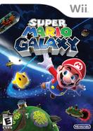 Caja de Super Mario Galaxy (América)