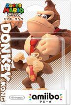 Embalaje japonés del amiibo de Donkey Kong - Serie Super Mario