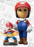 Mii usando el atuendo de Mario - Mario Kart 8