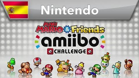 Mini Mario & Friends amiibo Challenge - Tráiler (Wii U & Nintendo 3DS)