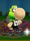 Patrón Inkling chica (lima) - Poochy & Yoshi's Woolly World