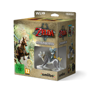 Pack de The Legend of Zelda Twilight Princess HD y amiibo de Link lobo (Europa)