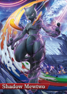 Amiibo Mewtwo Oscuro (América) - Serie Pokkén Tournament