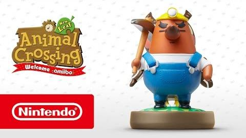 Animal Crossing New Leaf - Welcome amiibo - Rese T