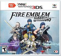 Caja de Fire Emblem Warriors (New 3DS) (América)
