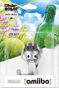Embalaje europeo del amiibo de Chibi Robo - Serie Chibi-Robo