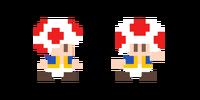 Traje de Toad - Super Mario Maker