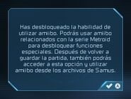Primer mensaje - Metroid Samus Returns