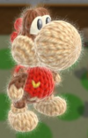 Patrón Diddy Kong - Yoshi's Woolly World
