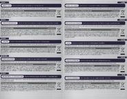 Reverso folleto informativo europeo tarjeta Mewtwo Oscuro Serie Pokkén Tournament