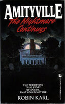 Amityville - The Nightmare Continues book cover (1)