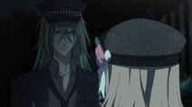 The Heroine meet Ukyo again at night