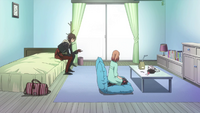 Shin With The Heroine At Home