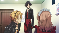 Shin And Toma With The Heroine