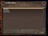 Custom Story
