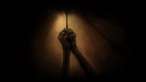 Arms Tied to a Strappado