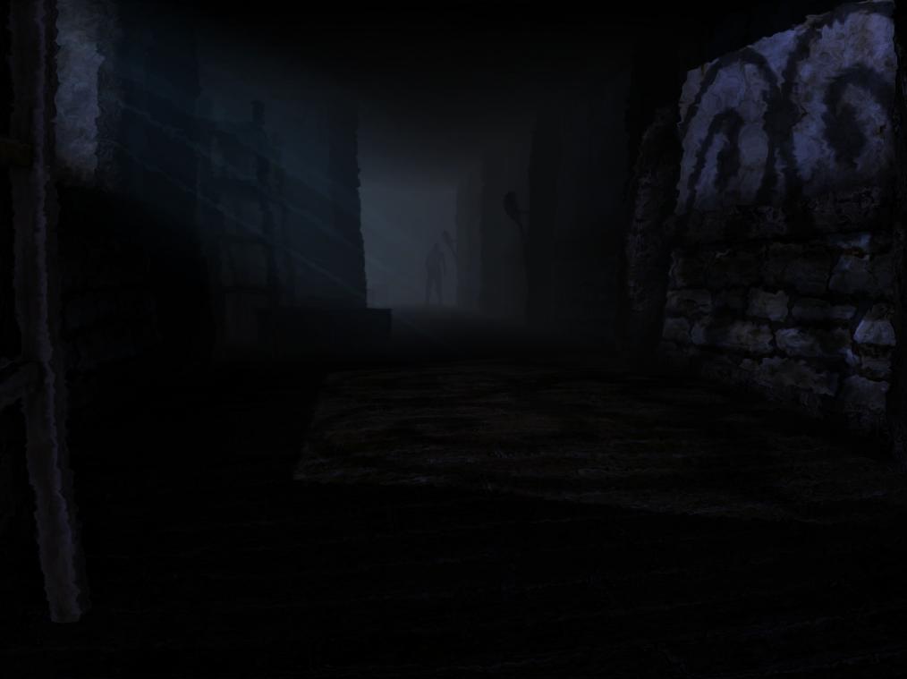 Silhouette of a Grunt in the Wine Cellar & Wine Cellar | Amnesia Wiki | FANDOM powered by Wikia