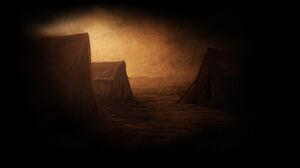 Tents in the Desert