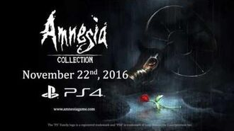 Amnesia Collection PS4 - Announcement Trailer