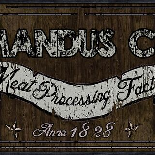 Mandus CO. Meat Processing Facility logo.