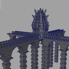 Maya render of the Chancel.