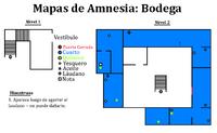 Mapa - Bodega