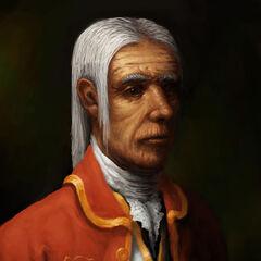 Retrato de Alexander.