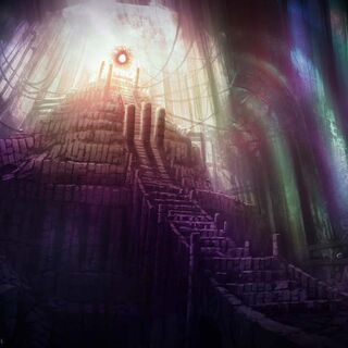 Concept art of the temple.