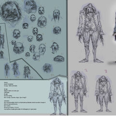 Early concept art of the Grunt.
