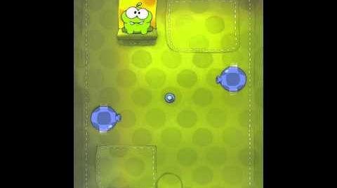 Cut the Rope 2-2 Walkthrough Fabric Box