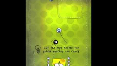 Cut the Rope 2-9 Walkthrough Fabric Box