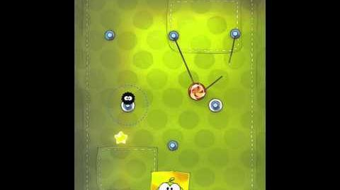 Cut the Rope 2-14 Walkthrough Fabric Box