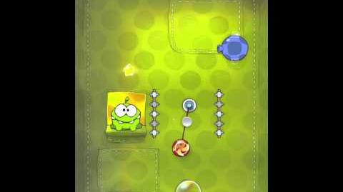 Cut the Rope 2-22 Walkthrough Fabric Box