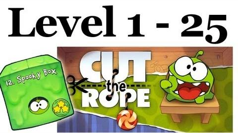 Cut The Rope Spooky Box All Levels