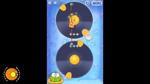 Cut the Rope 11-3 DJ Box (3 STARS)
