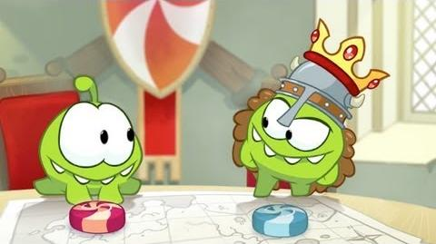 Om Nom Stories The Middle Ages (Episode 12, Cut the Rope Time Travel)