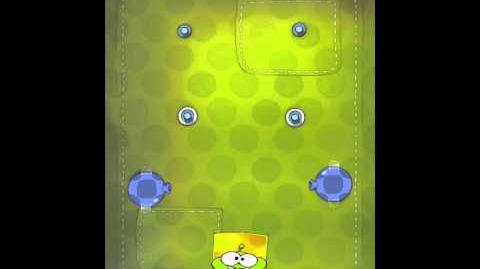 Cut the Rope 2-24 Walkthrough Fabric Box