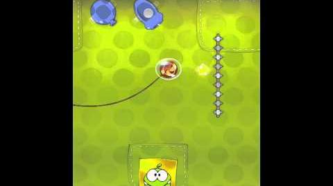 Cut the Rope 2-12 Walkthrough Fabric Box