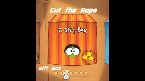 Cut the Rope Gameplay ( Gift box 1 25 all three stars)