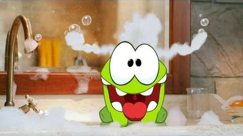 Om Nom Stories Bath Time (Episode 2, Cut the Rope)