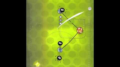 Cut the Rope 2-18 Walkthrough Fabric Box
