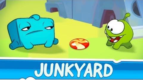Om Nom Stories Junkyard (Episode 24, Cut the Rope 2)