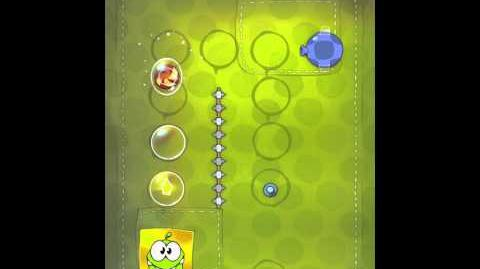 Cut the Rope 2-19 Walkthrough Fabric Box