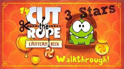 Cut the Rope - All Lantern Box Levels - Complete Walkthrough (Season 3 - Box 14)