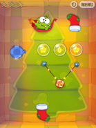 Cut the Rope Holiday Gift Скриншот 1