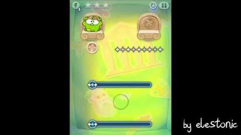 Прохождение Walkthrough - Cut the Rope Time Travel - Древняя Греция Ancient Greece