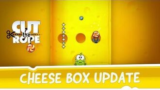 Cut the Rope - Cheese Box Update