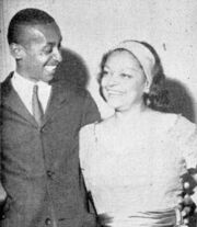 Donald Lambright with mother Winifred