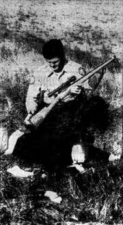 Michael Andrew Clark rifle